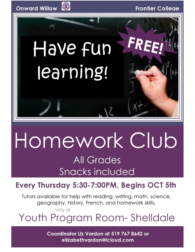 Homework Club poster OCTOBER-page0001