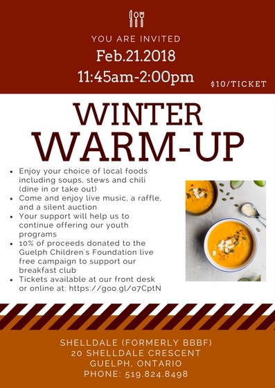 Winter Warm Up Invitation