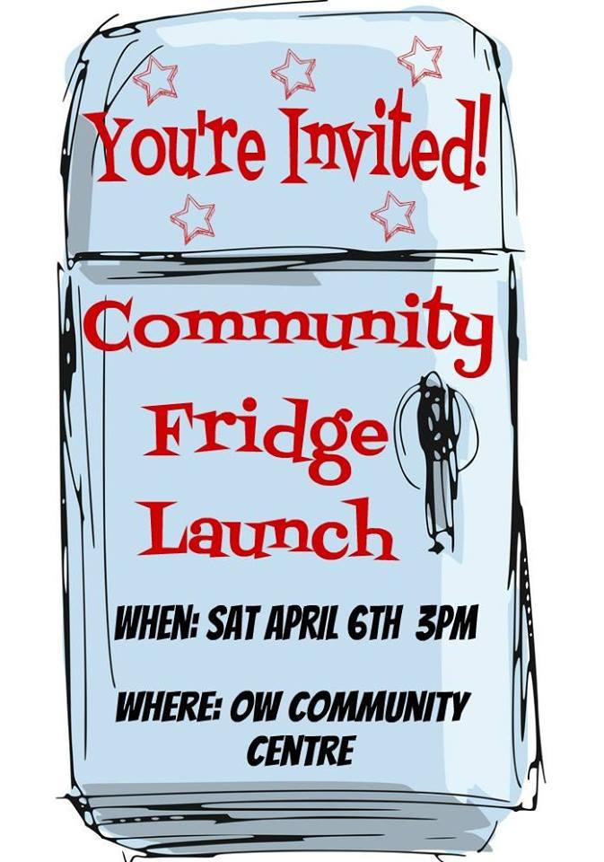 Community Fridge Launch Event