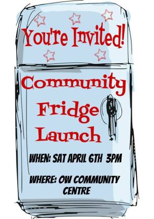 Community Fridge Launch Event