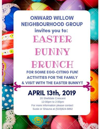 Easter Bunny Brunch Event